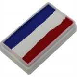 TAG Red White & Blue One Stroke Split Cake 30g