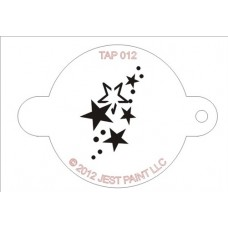 TAP Face Painting Stencils #12 - Stars
