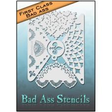 First Class Bad Ass Stencil 2002 Masquerade