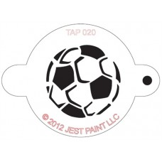 TAP Face Painting Stencils #20 - Soccerball