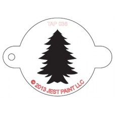 TAP Face Painting Stencils #36 - Christmas Tree