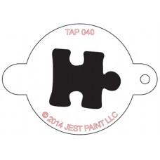 TAP Face Painting Stencils #40 - Puzzle Piece