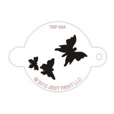 TAP Face Painting Stencils #4 - Butterflies