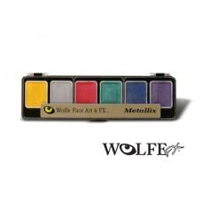 Wolfe FX 6 Colour Metallix Appetizer Palette