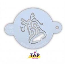TAP Face Painting Stencils #72 - Christmas Bell