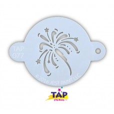 TAP Face Painting Stencils #77 - Fancy Fireworks