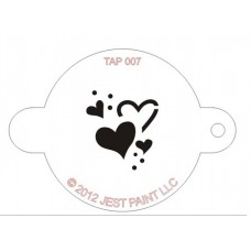 TAP Face Painting Stencils #7 - Hearts
