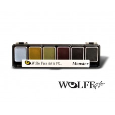 Wolfe FX 6 Colour Monster Palette