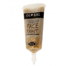 Bodyart Glitter Paint - Gold 15ml