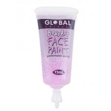 Bodyart Glitter Paint - Pink 15ml