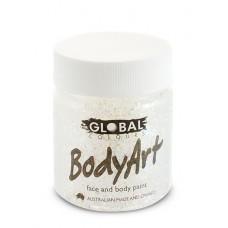 Bodyart Glitter Paint - Ultra White 45ml
