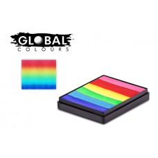 Global Bright Rainbow 50g Rainbow Cake