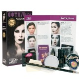 Goth/Punk Character Makeup Kit Premium