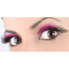 Mehron Eyelashes Magenta to Black