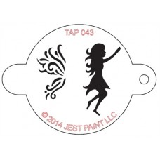 TAP Face Painting Stencils #43 - Fairy
