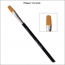Global Superior 1/2 Inch Filbert Brush