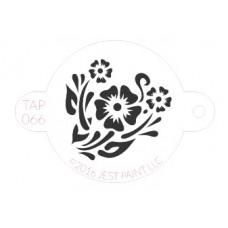 TAP Face Painting Stencils #66 - Flower Garden