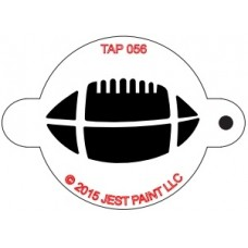 TAP Face Painting Stencils #56 - Football