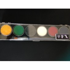 Diamond FX Regular Colour 6 x 10g Palette