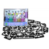 Halloween Glitter Tattoo Party Kit