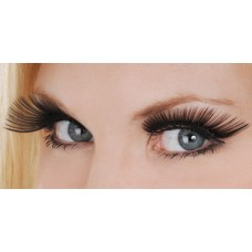 Mehron Eyelashes Long Black
