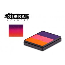 Global Morocco 50g Rainbow Cake