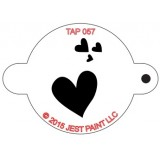 TAP Face Painting Stencils #57 - My Valentine