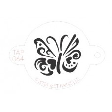 TAP Face Painting Stencils #64 - Ornate Butterfly
