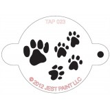 TAP Face Painting Stencils #23 - Paw Prints