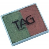 TAG Pearl Copper & Pearl Bronze Green Split Cake 50g