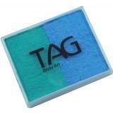TAG Pearl Teal & Pearl Sky Blue Split Cake 50g