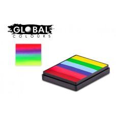 Global Positano 50g Rainbow Cake