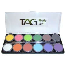 TAG Regular 12 x 10g Palette