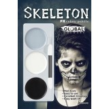 Global Face Paint Skeleton Kit