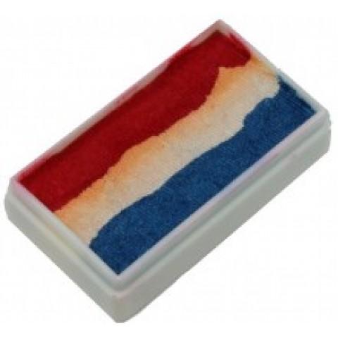 TAG Pearl Red White & Blue One Stroke Split Cake 30g