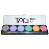TAG Regular Pastel 6 x 10g Palette