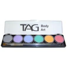 TAG Regular Pastel 6 x 10g Palette