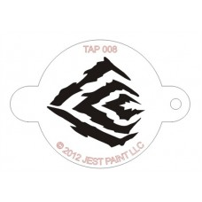 TAP Face Painting Stencils #8 - Tiger Stripes