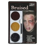 Tri-Colour Makeup Palette - Bruise