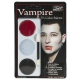 Tri-Colour Makeup Palette - Vampire