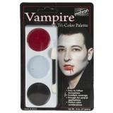 Tri-Colour Makeup Palette - Vampire