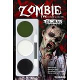 Global Face Paint Zombie